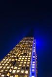 Oficina de la raya azul Foto de archivo libre de regalías