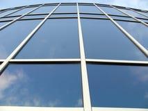 Oficina de las ventanas delanteras Imagenes de archivo