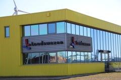 Oficina de Loodswezen, organización responsable de pilotos de los buques del mar a dirigir fotos de archivo
