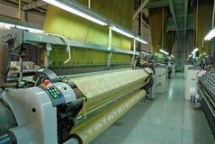 Oficina de matéria têxtil Foto de Stock