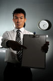 Oficina de negocios con el reloj 136 Fotografía de archivo