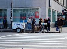 Oficina de New York City de la gerencia de la emergencia Fotografía de archivo libre de regalías