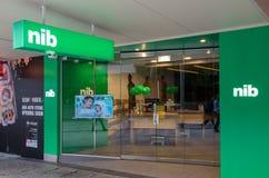 Oficina de seguro de la SEMILLA en Brisbane central, Australia imagenes de archivo