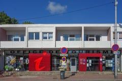 Oficina de turismo en Calais Imágenes de archivo libres de regalías