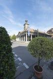 Oficina de turismo en el grande cuadrado del lugar, Vevey, Suiza Fotografía de archivo