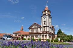 Oficina de viaje de Rotorua del turismo en Rotorua - Nueva Zelanda Fotos de archivo libres de regalías