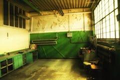A oficina de Walensa no estaleiro de Gdansk Fotos de Stock Royalty Free