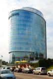 Oficina del banco de Barclays en la ciudad de Vilna Imágenes de archivo libres de regalías