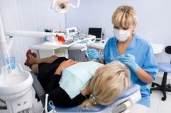 Oficina del dentista Fotos de archivo