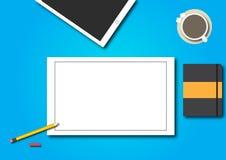 Oficina del ejemplo ilustración del vector