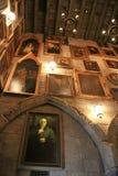 Oficina del ` s de Dumbledore en el mundo de Wizarding de Harry Potter Imágenes de archivo libres de regalías