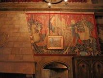 Oficina del ` s de Dumbledore en el mundo de Wizarding de Harry Potter Fotografía de archivo