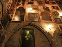 Oficina del ` s de Dumbledore en el mundo de Wizarding de Harry Potter Foto de archivo