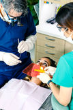 Oficina dental Fotografía de archivo