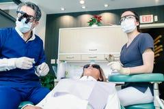 Oficina dental Imágenes de archivo libres de regalías