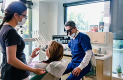 Oficina dental Fotografía de archivo libre de regalías