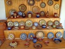 Oficina do oleiro. Bulgária 2008 Imagens de Stock