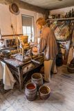 Oficina do pintor Imagens de Stock