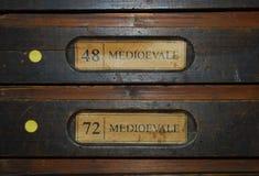 Oficina do Typography Fotografia de Stock