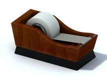 Oficina escocesa en el muelle de madera Imágenes de archivo libres de regalías