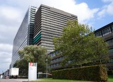 Oficina Europea de Patentes, EPO, en Rijswijk los Países Bajos fotografía de archivo