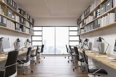 Oficina grande de la compañía ilustración del vector