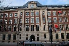 Oficina gubernamental de la oficina para planear, oficina cultural CPB del plan en el Bezuidenhoutseweg en Den Haag The Hague en  imágenes de archivo libres de regalías