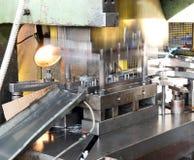 Oficina - imprensa de formação do metal fotografia de stock