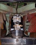 Oficina - imprensa de formação do metal imagem de stock