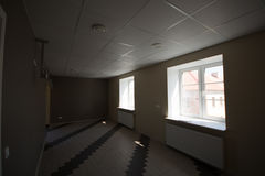 Oficina interior, construcciones modernas Fotos de archivo