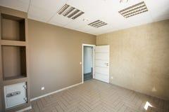 Oficina interior, construcciones modernas Foto de archivo