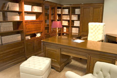 Oficina lujosa imagen de archivo
