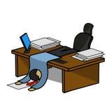 Oficina Manager Fotos de archivo