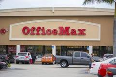 Oficina Max Store Foto de archivo libre de regalías