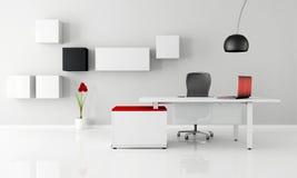 Oficina minimalista Fotografía de archivo libre de regalías