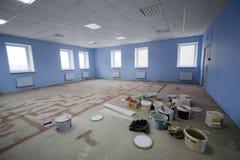 Oficina moderna de la construcción Fotografía de archivo