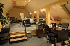 Oficina moderna interior Imagen de archivo
