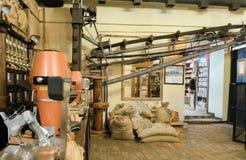 Oficina para a produção de café Fotografia de Stock