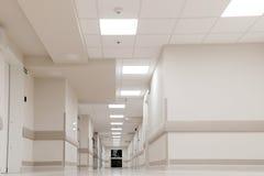 OFICINA PASILLO DEL HOSPITAL Imagen de archivo libre de regalías