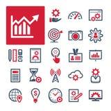 Oficina, productividad y comunicación (parte 1) stock de ilustración
