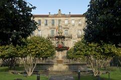 Oficina recaudatoria de Pontevedra fotografía de archivo