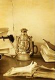 Oficina retra Fotografía de archivo