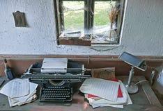 Oficina retro Imagem de Stock