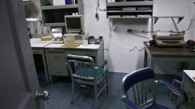 Oficina tecnológica del acorazado almacen de metraje de vídeo