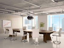 Oficina - un pasillo para las reuniones Imagenes de archivo