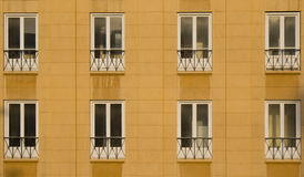 Oficina Windows en despegue Beirut Fotos de archivo