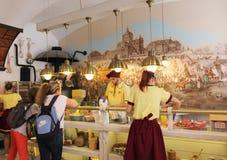 Oficina Yurashko do pão-de-espécie de Lviv Imagens de Stock Royalty Free