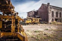 Oficinas e minas de Alquife dos armazéns imagens de stock royalty free