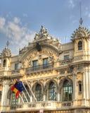 Oficinas en el acceso de Barcelona Imagen de archivo