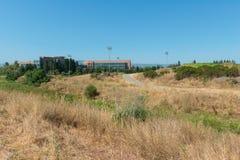 Oficinas y parque de alta tecnología foto de archivo